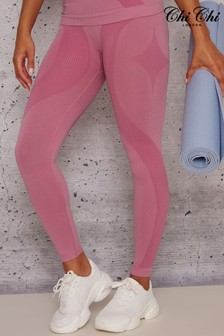 Chi Chi London Pink Edie Leggings