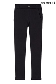 Name It Black Stretch Trousers