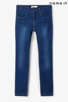 Name It Blue Adjustable Waist Stetch Jeans