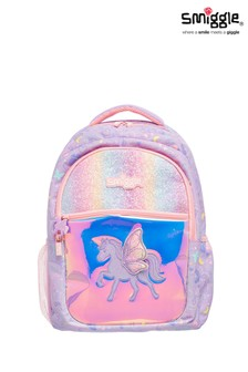 Smiggle Purple Sky Backpack
