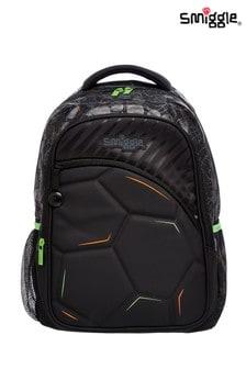 Smiggle Black Kick Backpack