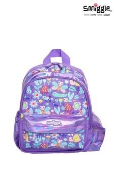 Smiggle Purple Big Adventures Teeny Tiny Backpack