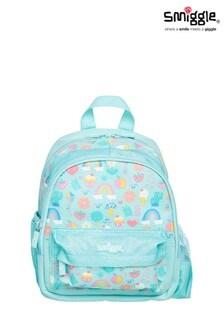 Smiggle Blue Rainbow Big Adventures Teeny Tiny Backpack