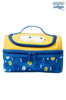 Smiggle Yellow Minions Double Decker Lunchbox