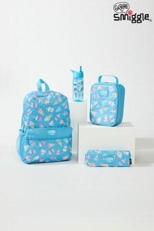 Smiggle Light Blue Giggle by Smiggle 2 School Bundle