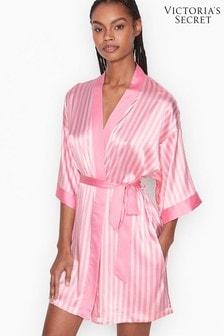 Victoria's Secret Flounce Satin Robe