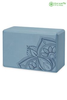 Gaiam Blue Yoga Block Brick