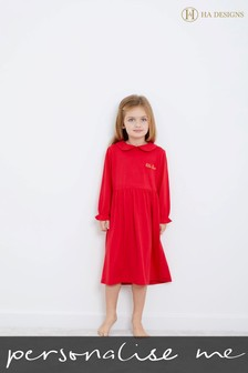 Personalised HA Mini Children's Jersey Night Dress by HA Designs