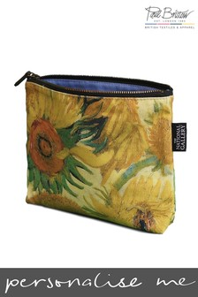 Paul Bristow Sunflower National Gallery Cosmetic Bag