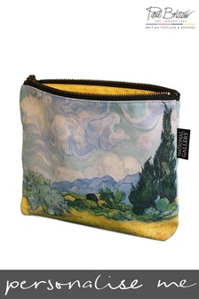 Paul Bristow Wheatfields Print Personalised National Gallery Cosmetic Bag