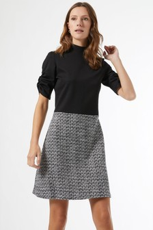 Dorothy Perkins Boucle 2In1 Dress