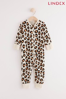 Lindex Black Zip Sleepsuit (Baby)
