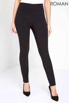 Roman Black Originals Full Length Stretch Trousers