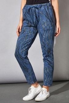 Roman Blue Originals Animal Print Lounge Pants