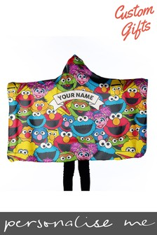 Personalised Sesame Street Wearable Blanket by Custom Gifts
