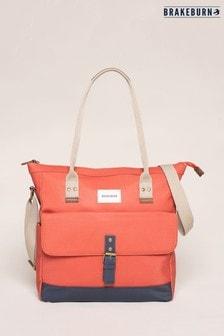 Brakeburn Orange Shopper Bag