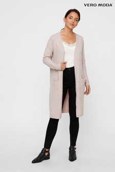 Vero Moda Pink Longline Cardigan