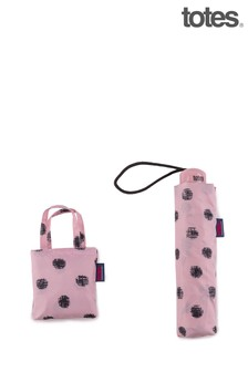Totes Stitched Dot Print Supermini & Matching Bag in Bag shopper