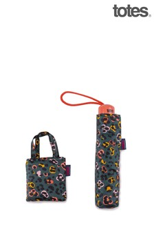 Totes Animal Floral Print Supermini & Matching Bag in Bag shopper