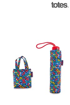 Totes Retro Ditsy Print Supermini & Matching Bag in Bag shopper