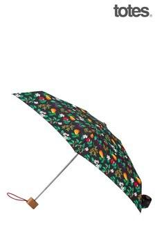 Totes Green Compact Round Umbrella
