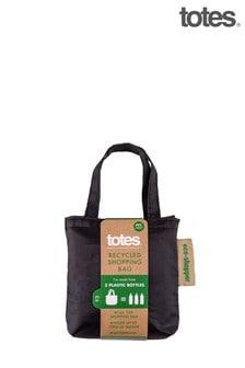 Totes Black Eco Bag In Bag Shopper Plain