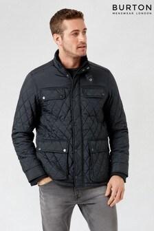 Burton Black Kestral Quilted Padded Jacket