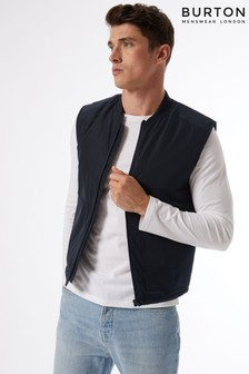 Burton Navy Quilted Gilet