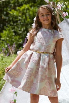 Lipsy Pink Cap Sleeve Belted Dress