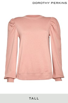 Dorothy Perkins Pink Tall Luxe Lounge Sweat Top