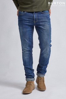 Burton Slim Mid Wash Organic Jeans