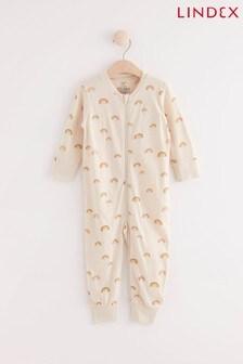 Lindex Rainbow Zip Sleepsuit (Baby)