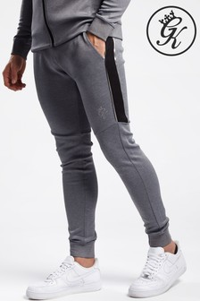 Gym King Grey Adapt Tracksuit Bottoms