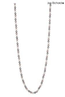 Jon Richard Pink Multi Tonal Long Necklace