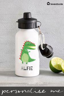 Personalised Dinosaur Drinks Bottle by Loveabode