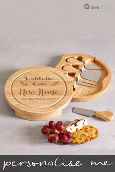 Personalised Cheese Board by Loveabode
