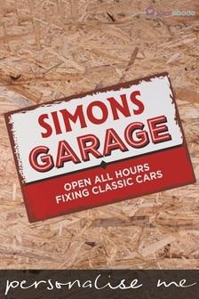 Personalised Vintage Garage Sign by Loveabode