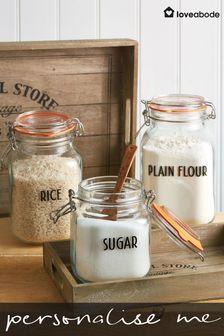 Personalised Storage Jar Labels 10 Pack