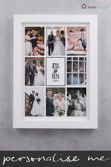Personalised Multi Photo Wall Art By Loveabode