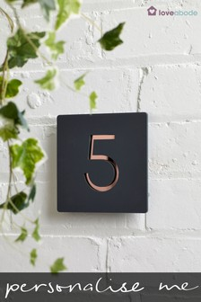 Personalised House Number by Loveabode