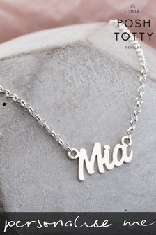 Personalised Name Necklace by Posh Totty Designs