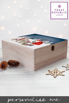 Personalised Christmas Box by Treat Republic