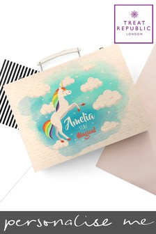 Personalised Unicorn Colouring Set by Treat Republic