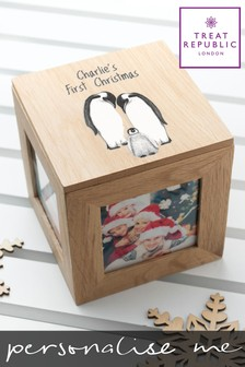 Personalised 1st Christmas Box by Treat Republic