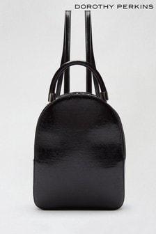 Dorothy Perkins Black Sweden - Pu Backpack Bag