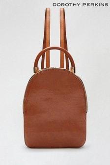 Dorothy Perkins Grey Sweden - Pu Backpack Bag
