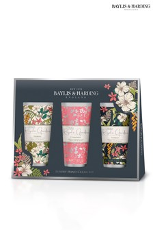 Baylis & Harding Royale Garden Assorted 3 Hand Cream Set