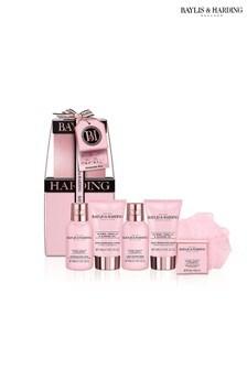 Baylis & Harding Jojoba, Vanilla  Almond Oil Mini Stack Gift Set