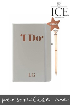 Personalised Notebook With Pen By Ice London