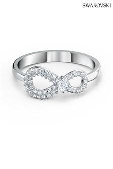 Swarovski White Infinity Ring